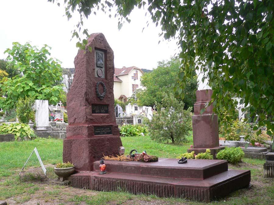 Lajos Lóczy's grave